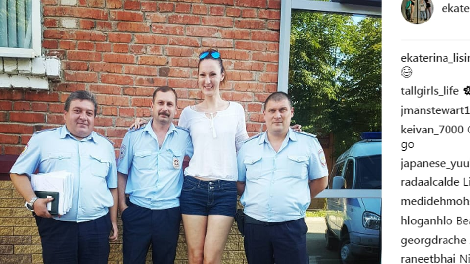 At 6 feet 9 inches, this Russian might be the world's ...