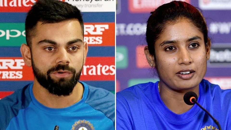 Virat Kohli could not recognise Mithali Raj while posting a photo of the Indian women's cricket team captain in his Facebook page