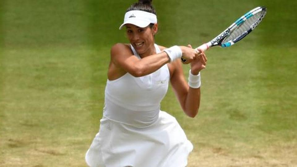 Garbine Muguruza will aim to become the first Spanish woman in 23 years to win Wimbledon when she takes on Venus Williams in Saturday's final.  (AFP )