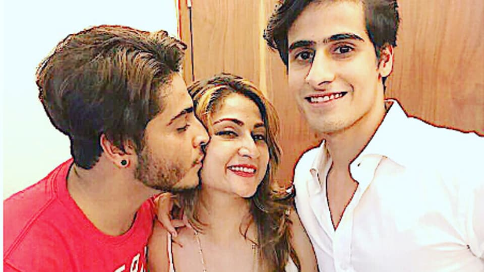 Actor Urvashi Dholakia's sons plan to act one day, as well.
