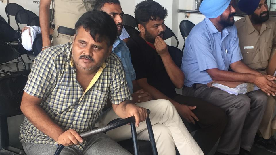 The accused, Shiv Bahadur