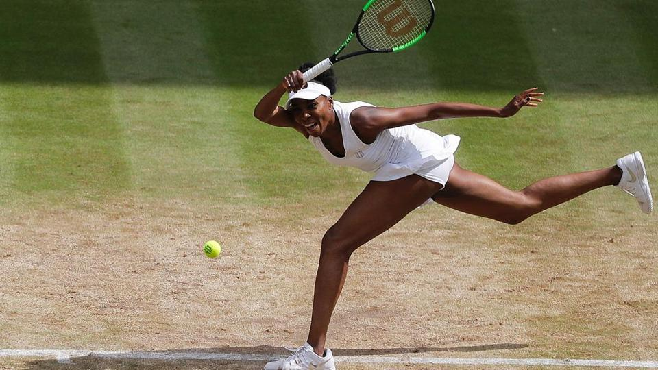With the win, Venus became the oldest Wimbledon finalist in 23 years.  (AFP )