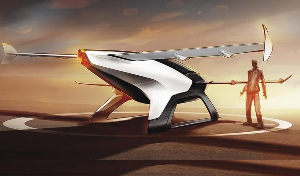Vahana, the personal mobility flying car from Airbus looks promising