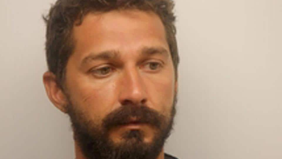 Actor Shia LeBeouf is pictured in Savannah, Georgia, in this handout photo.