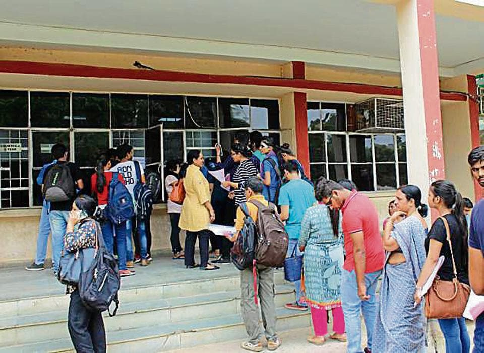 DU has around 56,000 seats for undergraduate courses at its 60-odd constituent colleges, of which around 50,000 are for merit-based undergraduate courses. A little over 10,000 seats were still up for grabs at various colleges.