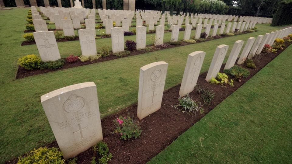 The cemetery was initially built to commemorate the servicemen and women who lost their lives during the world wars and were buried in civil and cantonment cemeteries in India and Pakistan.