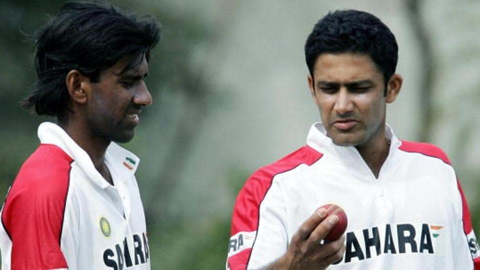 Lakshmipathy Balaji (L) believes one year is too short a period for any coach to put the processes he wants to implement in order, inferring that Anil Kumble's tenure as Indian cricket team's coach was not long enough.
