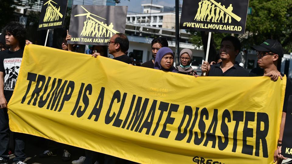 Climate change,Donald Trump,immigration