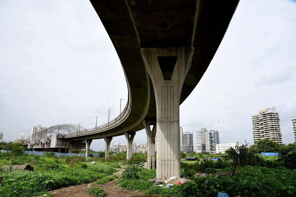 The Metro line at Kharghar is the first phase of the project which is under construction.