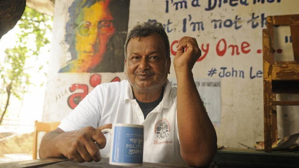 Pramod Sain, popularly known as Pramod-da, ran the canteen of Presidency University for more than four decades.