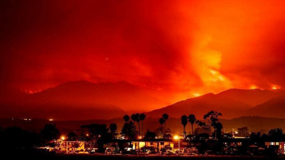 According to a report, more than 6,000 firefighters are battling at least 15 large wildfires across California, prompting evacuations as high temperatures and dried out vegetation fuelled dozens of blazes in the Western United States. Hundreds of people have been ordered to evacuate the remote canyons affected by the largest blaze, the Alamo Fire, which has scorched nearly 29,000 acres of Santa Barbara and San Luis Obispo counties since it started. (Michael Nekrasov / REUTERS)