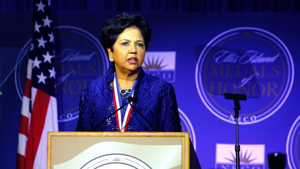 Indra Nooyi (in picture) of Pepsi is among 29 members of the USIBC board who voted to split with the US Chamber of Commerce.