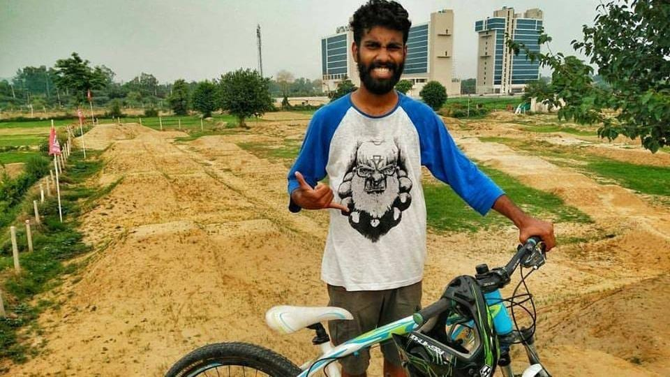 Ajay, who was an active participant in mountain bike championships throughout the country, had numerous friends and they paid homage to the young rider.