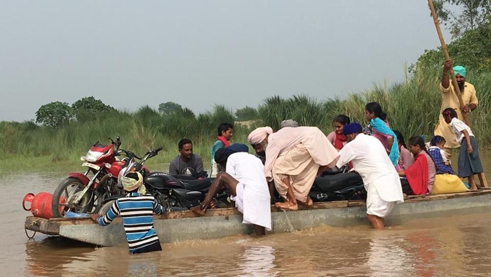pantoon bridge,Mand area,Sultanpur Lodhi