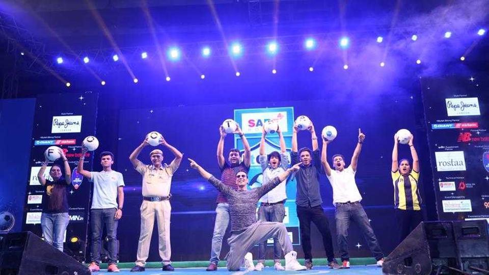 Akshay Kumar had inaugurated last year's edition of the HTGIFA tournament.