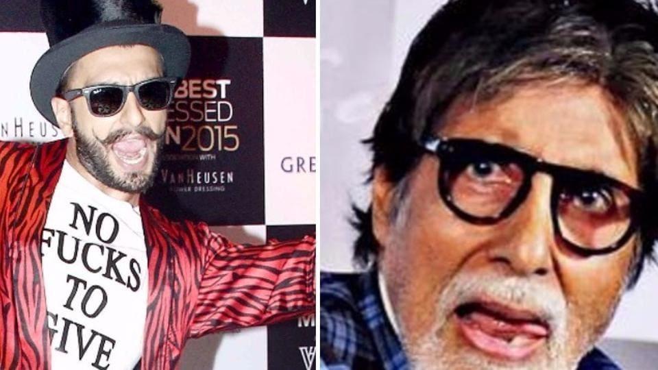 Actor Amitabh Bachchan, before Ranveer Singh, had reprimanded actor Sonam Kapoor on Twitter.