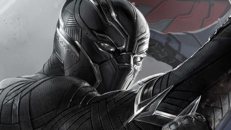 Black Panther stars actor Chadwick Boseman in the titular role,  T'Challa.