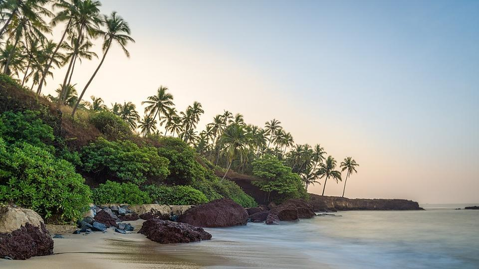 At the third place on the Lonely Planet's list are the beaches of northern Kerala in India.