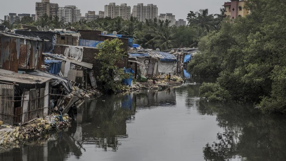 A mangrove cell official said the accused were trying to rebuild shanties at Sai Dham Nagar and sell them.