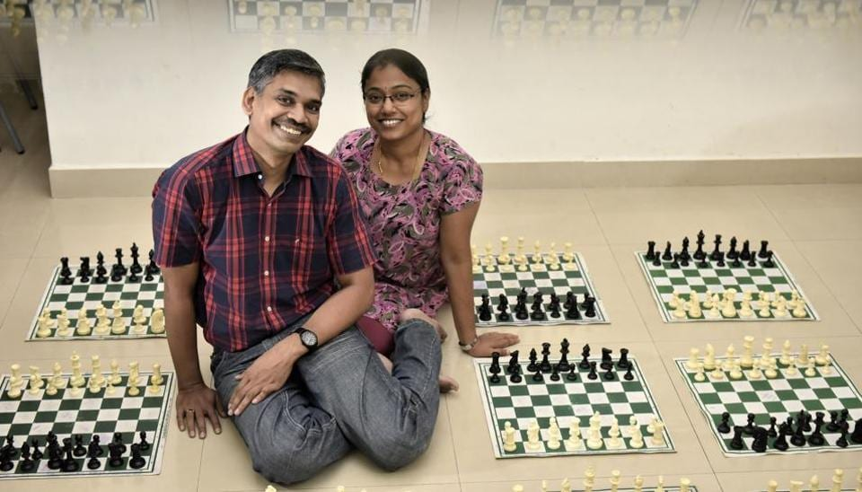 Grand Master RB Ramesh and Woman Grand Master Aarthie, from Chennai, are the best-known couple in Indian chess.