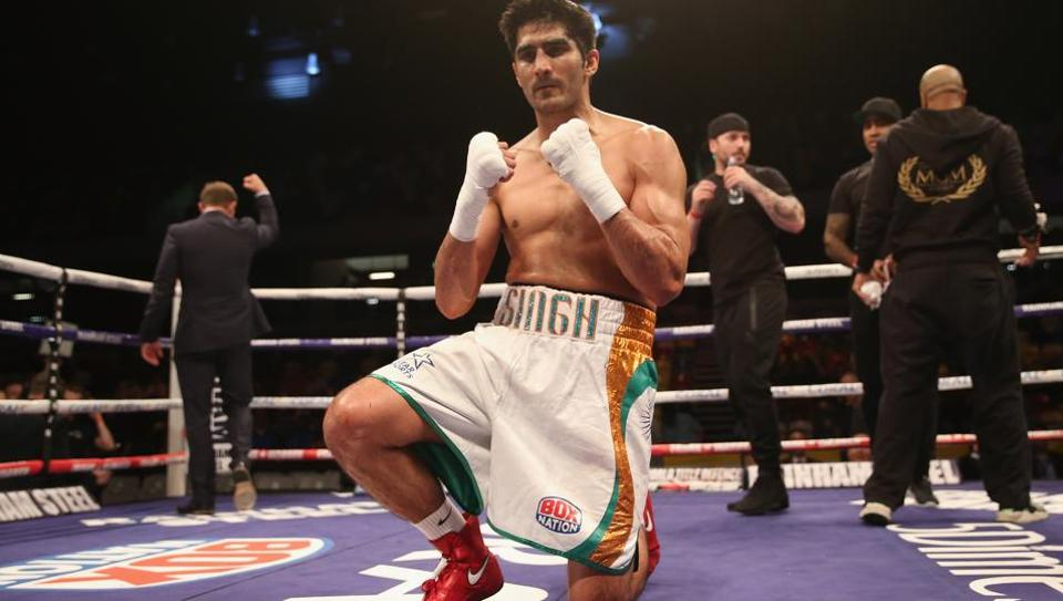 Vijender Singh is the first Indian boxer to win an Olympics medal.