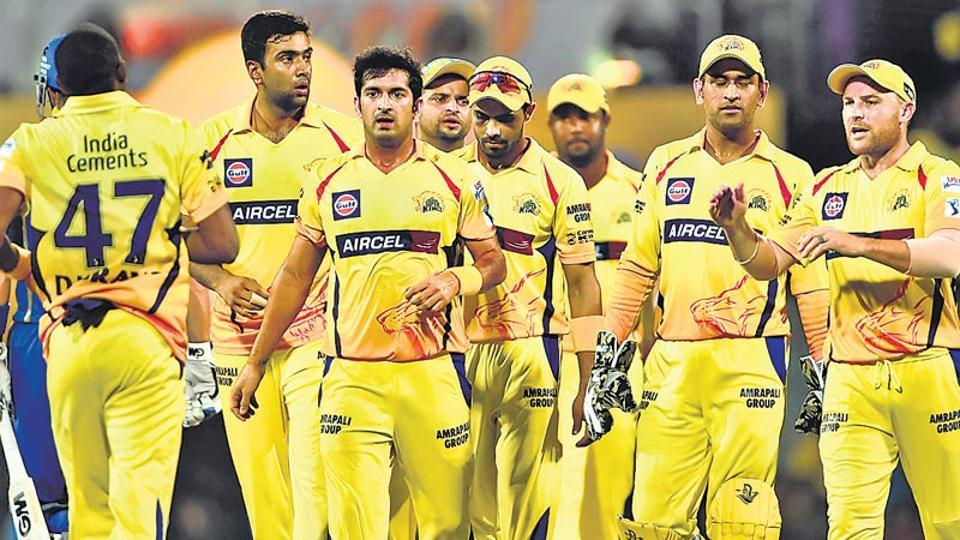 Chennai Super Kings,Indian Premier League,Board of Control for Cricket in India