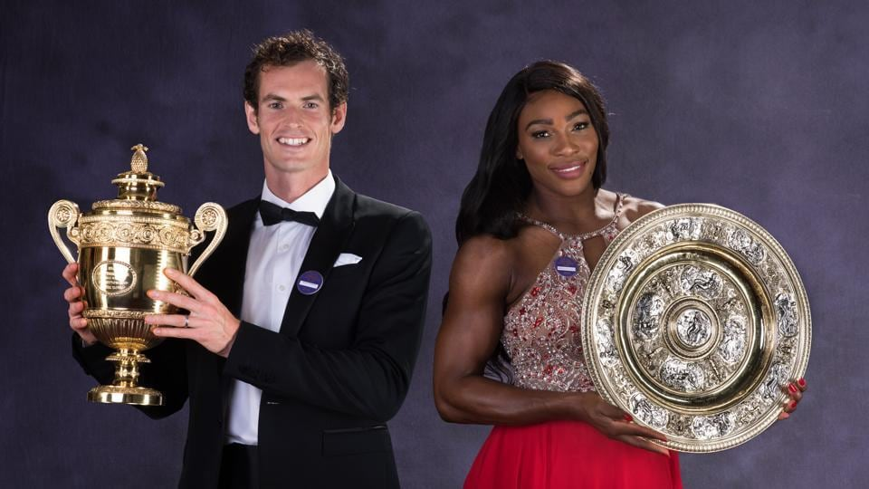 "Serena Williams has commended Andy Murray after he shot down a reporter over ""casual sexism""."
