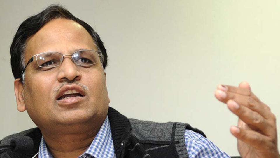 Delhi health minister Satyendar Jain. (File Photo)