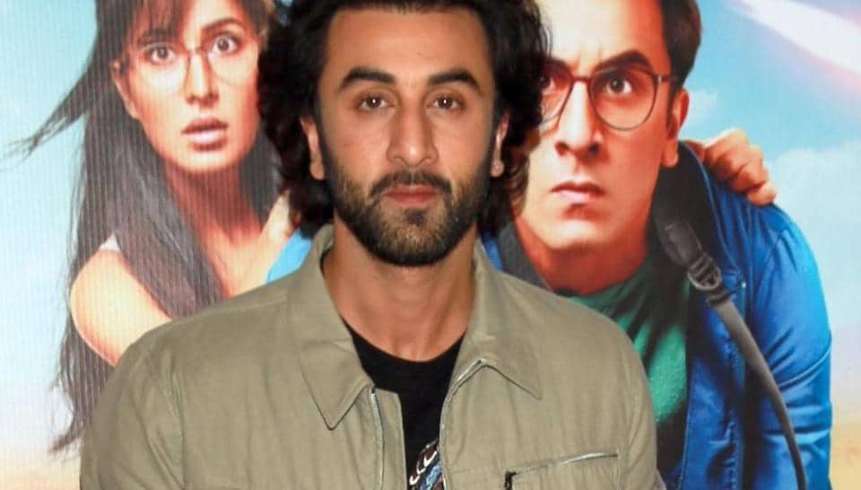 Ranbir Kapoor at a press meet for Jagga Jasoos.