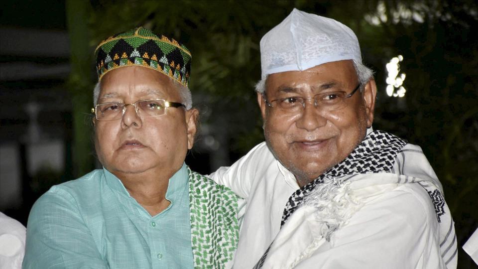 Nitish Kumar,Lalu Prasad Yadav,Tejashwi Yadav