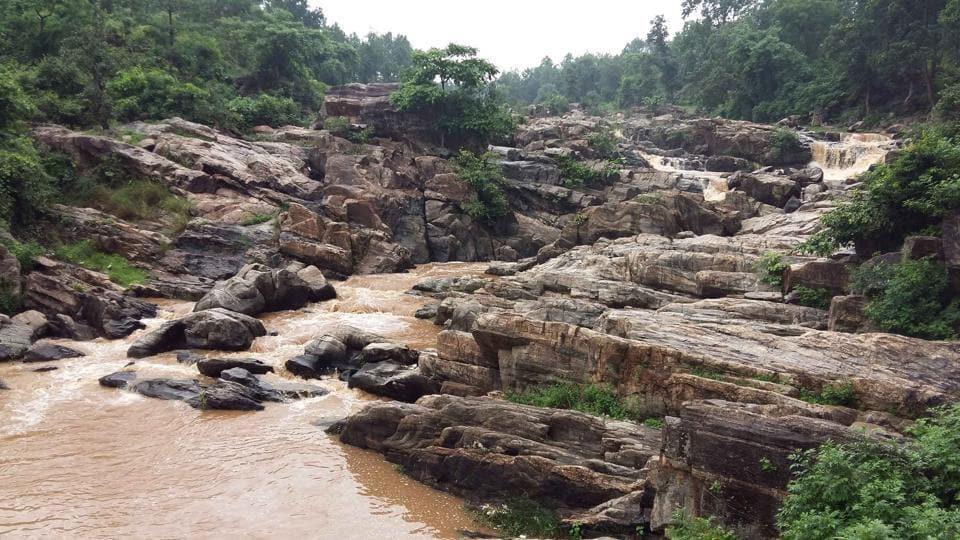 Jonha falls near Ranchi