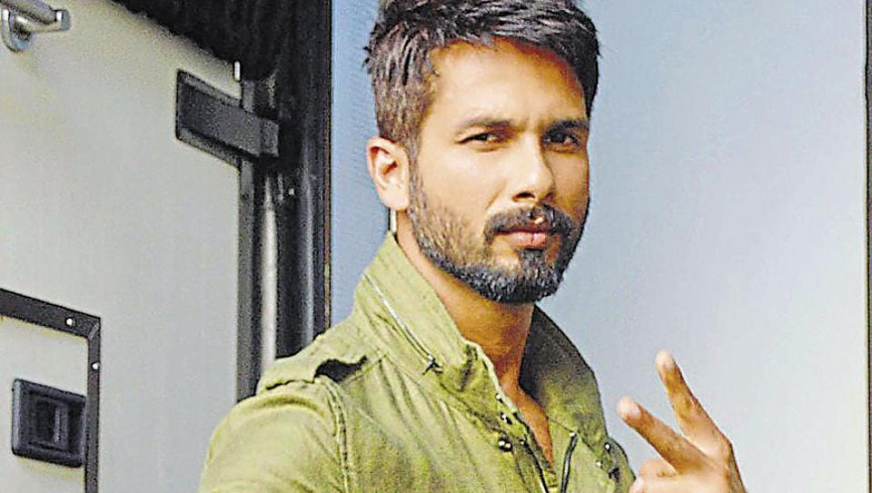 Shahid Kapoor was spotted at Mehboob Studio in Mumbai.
