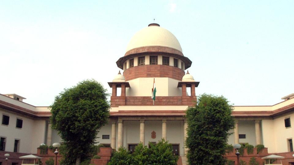 The Supreme Court building in New Delhi.