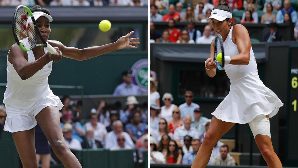 Wimbledon 2017,VenusWilliams,Garbine Muguruza