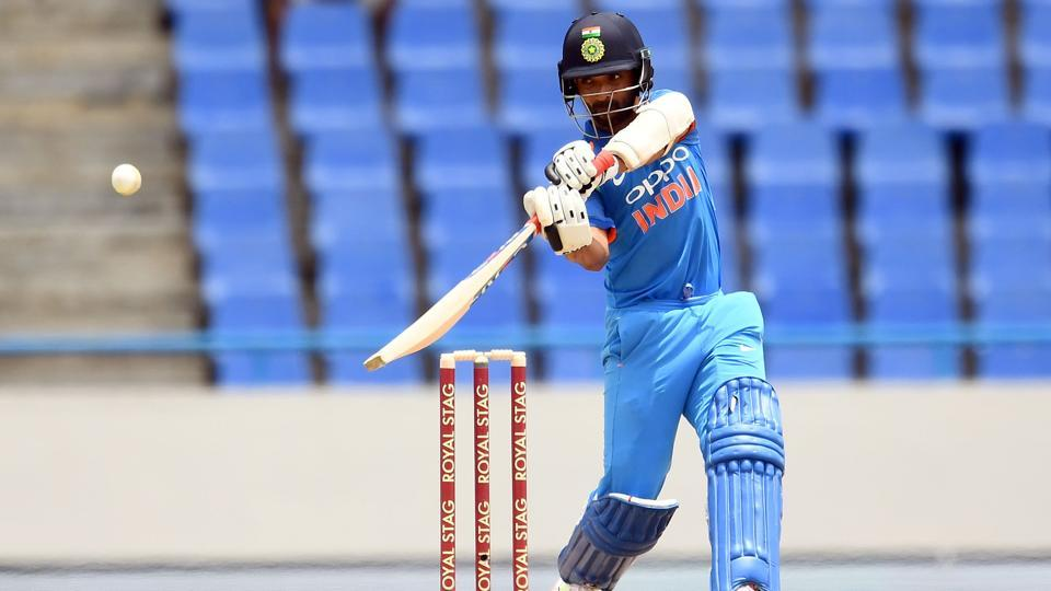 India's Ajinkya Rahane was named the Man of the Series in the five-ODI series against the West Indies.
