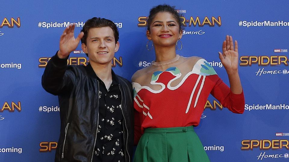 Is Tom Holland dating his Spider-Man: Homecoming co-star ...