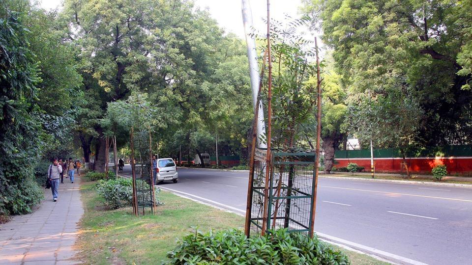 Delhi news,Green delhi,plantations drive