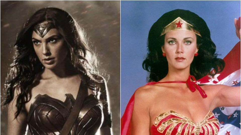 The 65-year-old played the dual character of Diana Prince/Wonder Woman on TV in the 1970s.