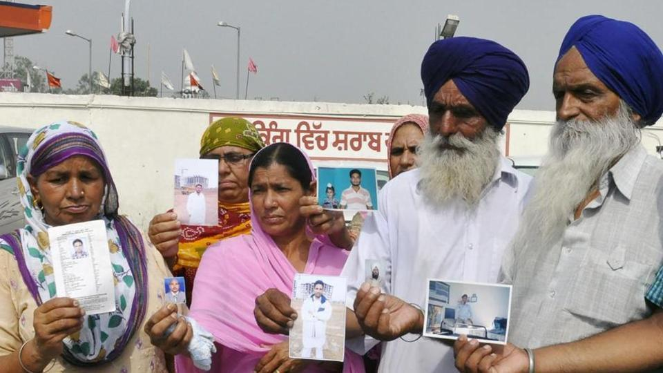 39 Indians, including 29 Punjabis, went missing at Mosul in Iraq in June 2014 after being abducted by the Islamic State.