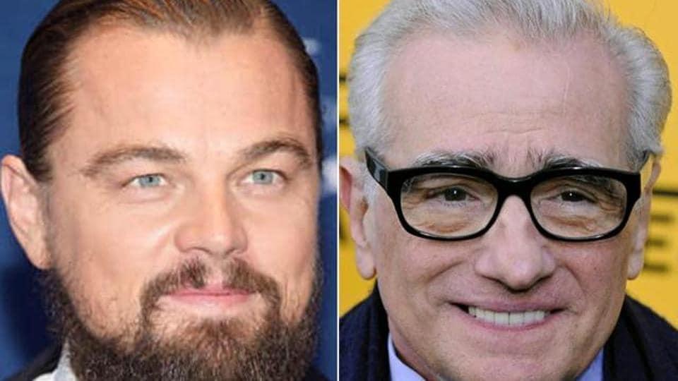 Leonardo DiCaprio,Martin Scorsese,David Grann