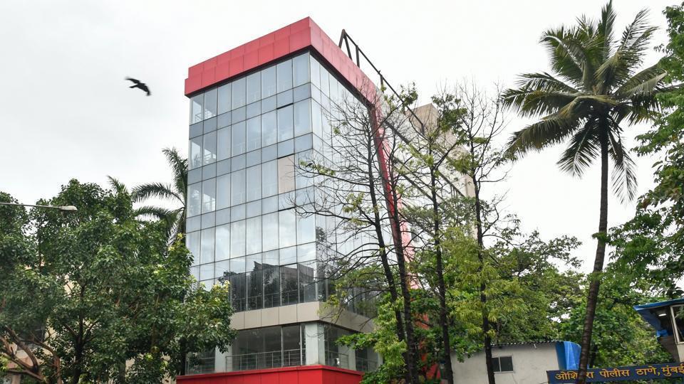 The commercial building built on the Mhada plot at Oshiwara in Mumbai