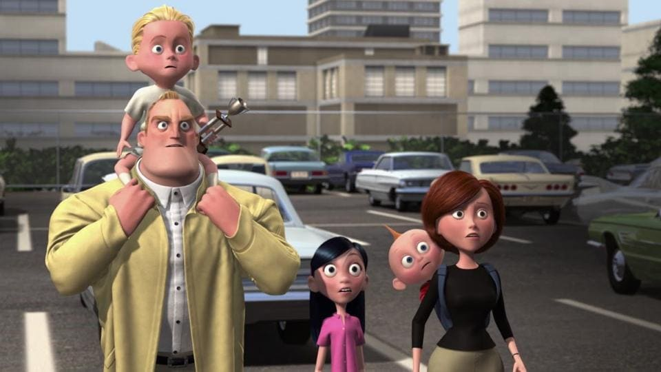 The Incredibles 2 will begin from right where the first one ended.