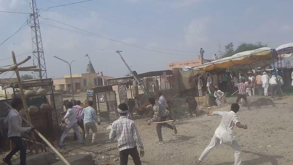 Rajasthan,Farmer protests,Canal