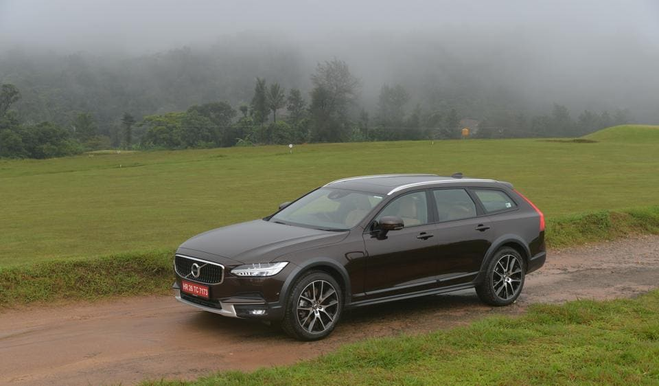 The Volvo V90 is a strongman-suit clad version of the V90, the estate sibling to the impressive S90 sedan.