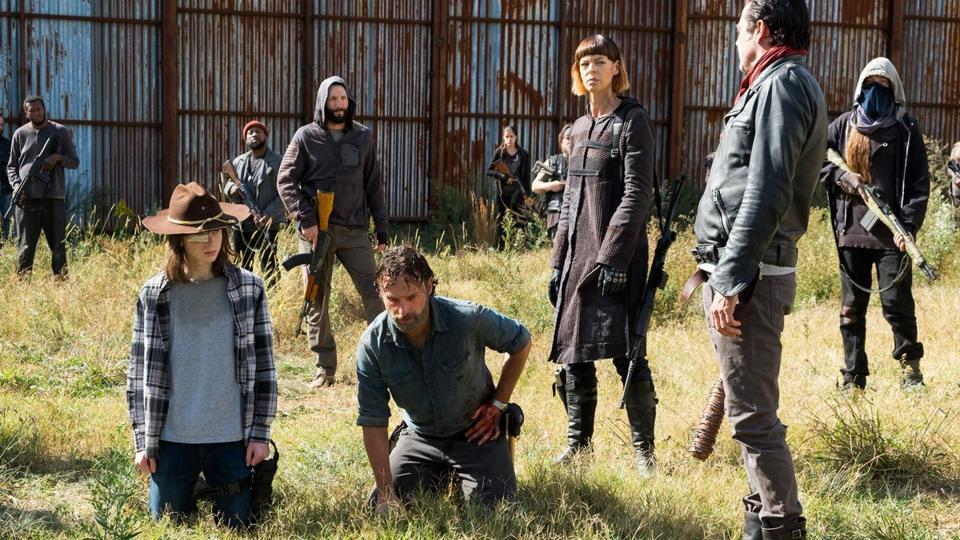 The Walking Dead,Stuntman,Production