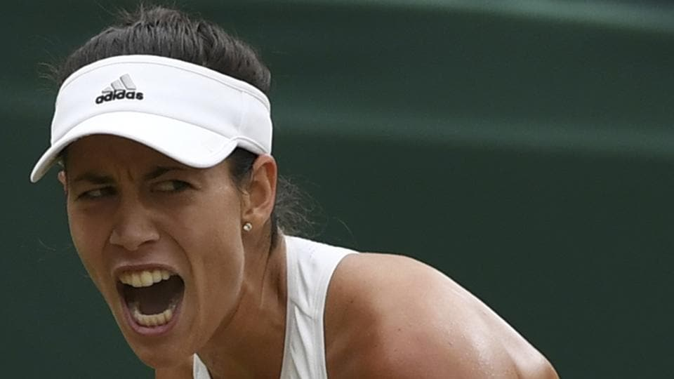 Garbine started brilliantly in the second set, immediately breaking Venus Williams. (AP)