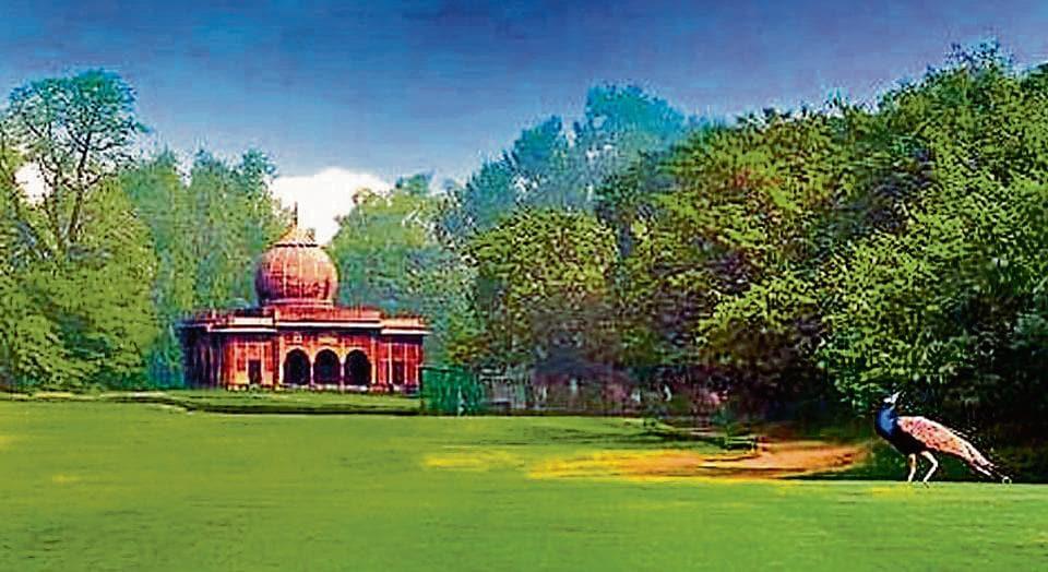 A view of the prestigious Delhi Golf Club, which was establised in 1930. (Credit: Delhi Golf Club website)