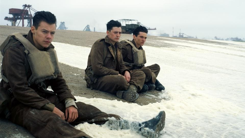 Christopher Nolan's thriller is about the evacuation of hundreds of thousands of Allied soldiers from Dunkirk, France.