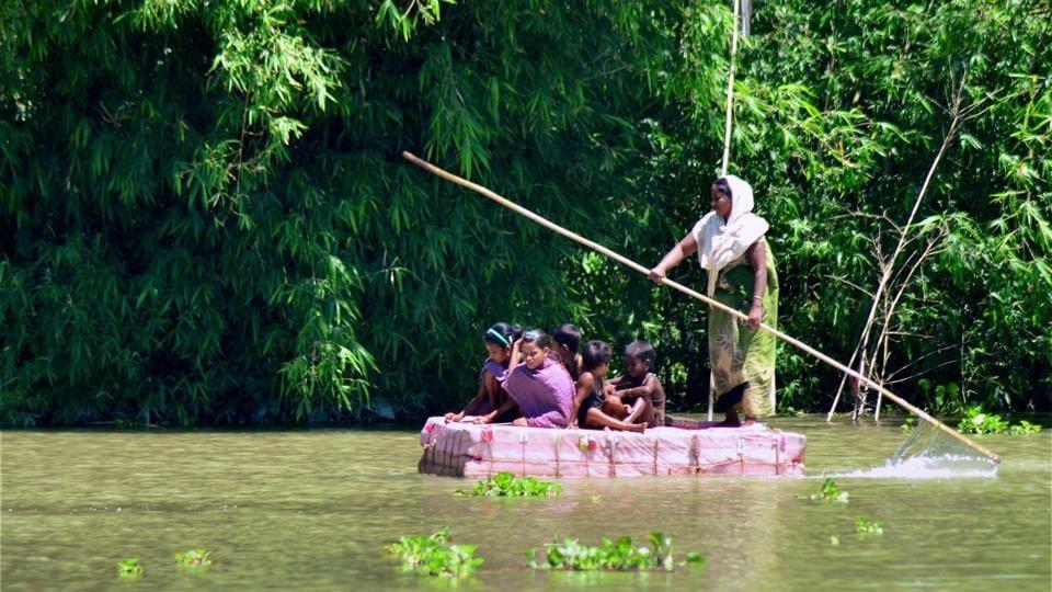 Floods,India,Pakistan