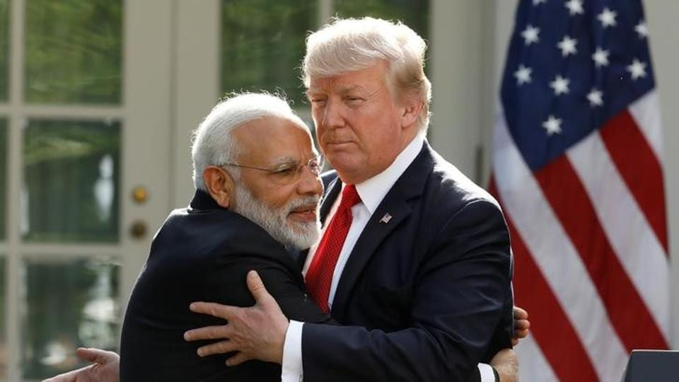 "The Trump administration has already said it was committed to treating India as a ""major defence partner""."